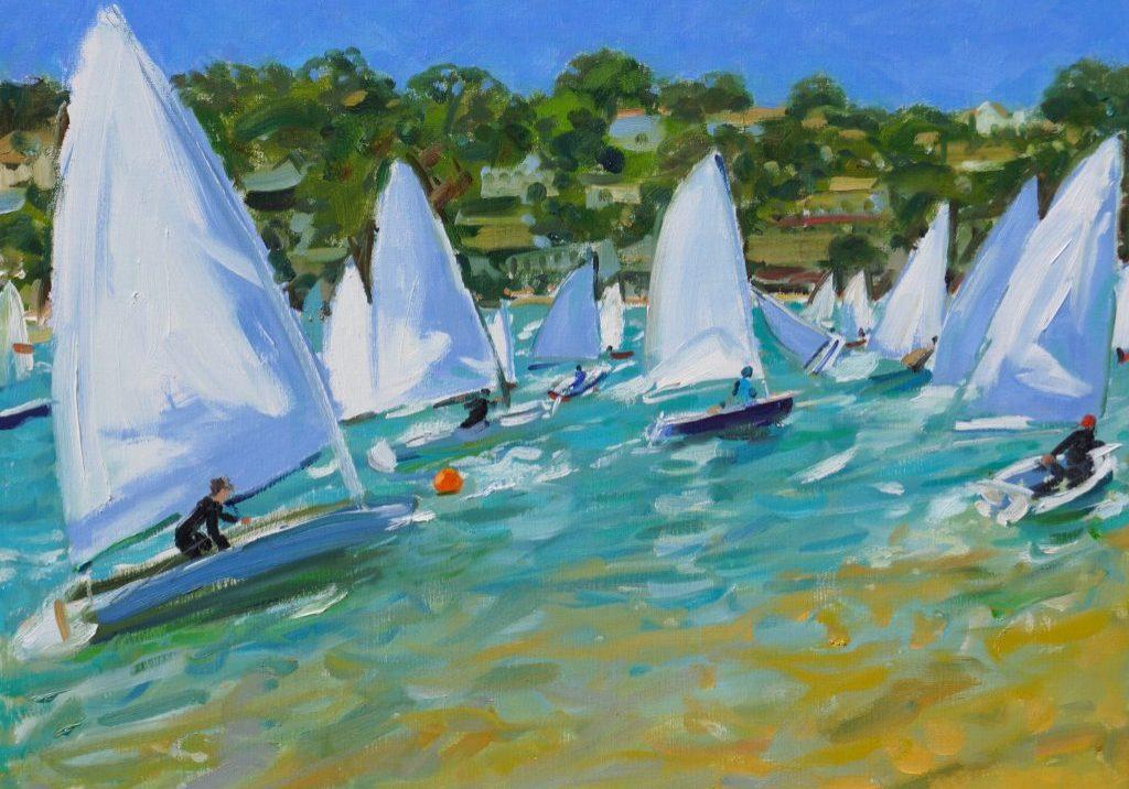 Andrew Macara - Boat Race - Salcombe