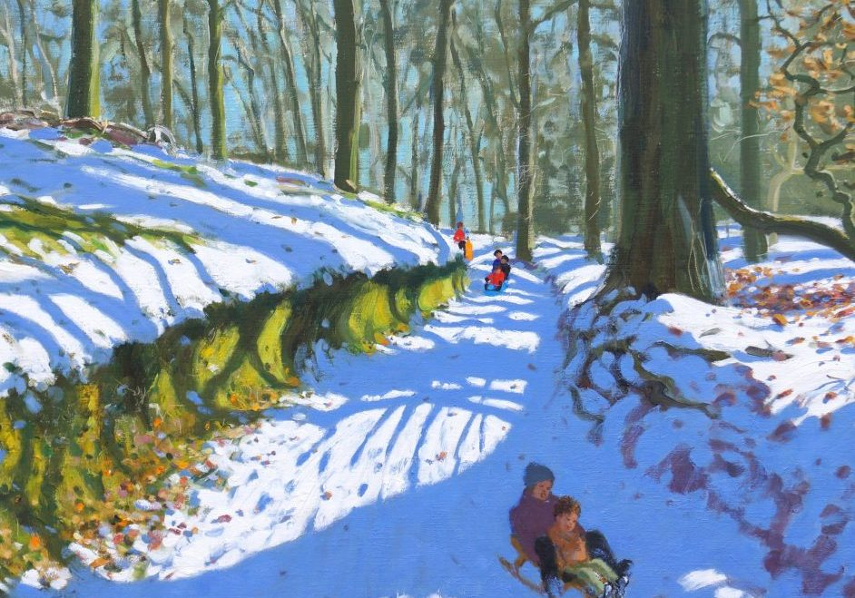 Andrew Macara - Sledging Down the Track - Osmaston Derby