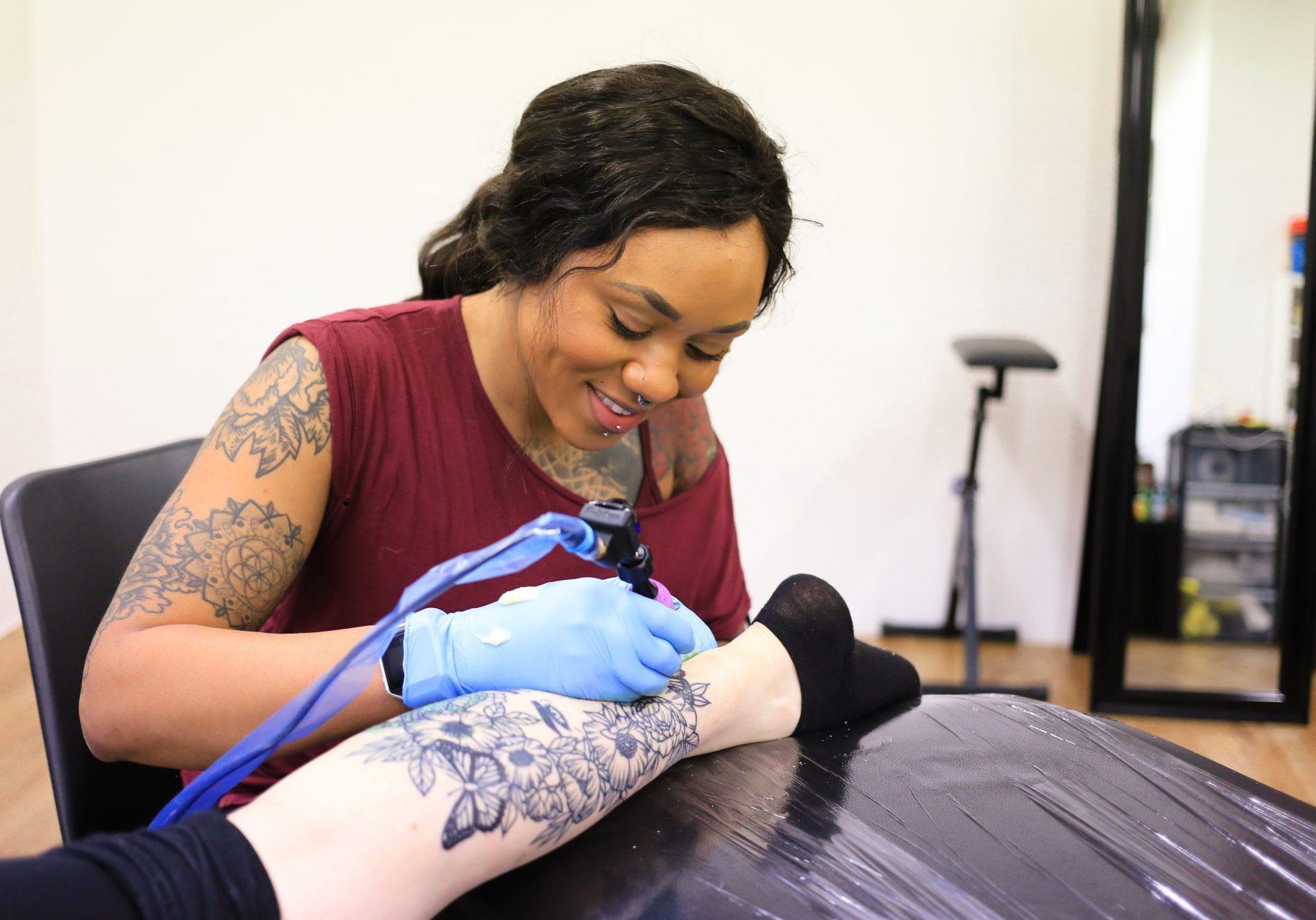 Jodie Powell Tattoo Artist 1