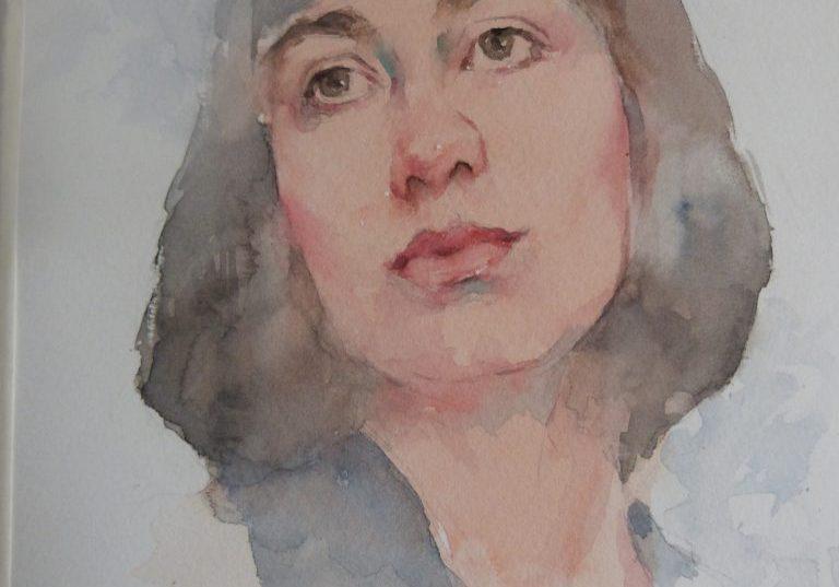 Watercolour-portrait